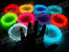 EL冷光线,EL发光线,冷电荧光线,柔性霓虹灯条,汽车氛围灯