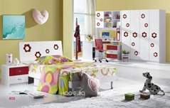 7602 Children Colourful Bedroom Set