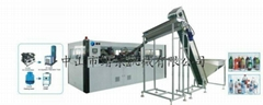 High speed stretch plastic bottle blow molding machine(professional efficient)