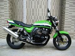 二手摩托車03年川崎ZRX-400摩托車(  )