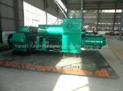 Automatic Two-Stage Vacuum Brick Extruder