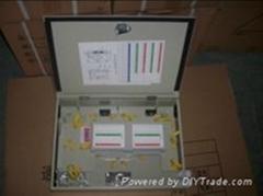 1分32插片式光分路器箱