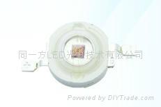 LED燈珠紅光1W大功率30MIL90-100LM