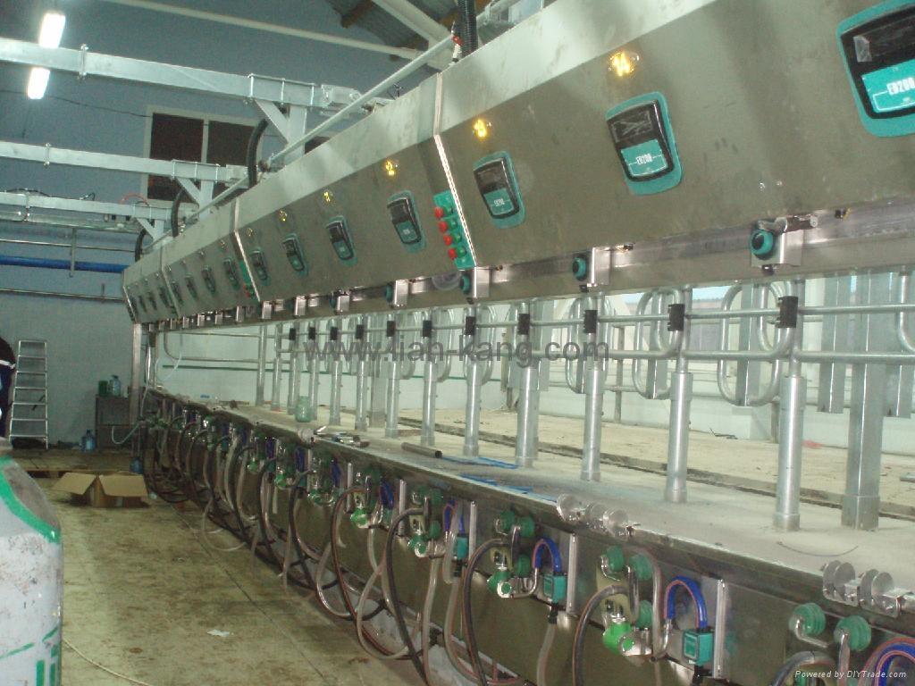 牧场计算机管理并列式挤奶台