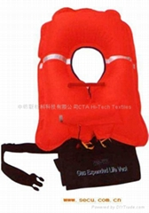 Tpu Fabric for Inflatable Life Vest/Life Jacket