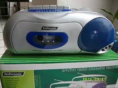 AM / FM Radio Cassette Recorder