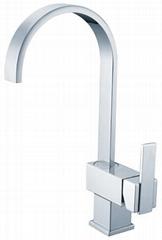 Gooseneck Pulldown Kitchen sink mixer Faucet tap chrome