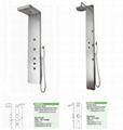 Luxury Stainless Steel Bathing Shower Panels