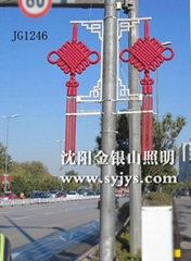 LED中国结装饰灯