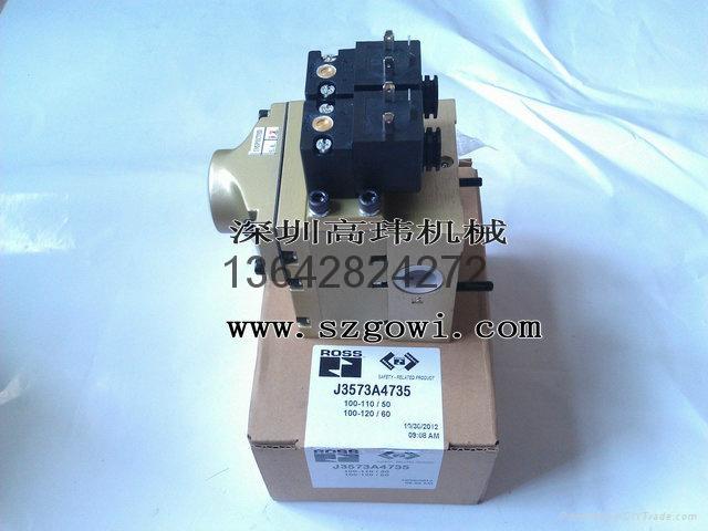 原裝進口美國ROSS沖床電磁閥J3573B4640 3