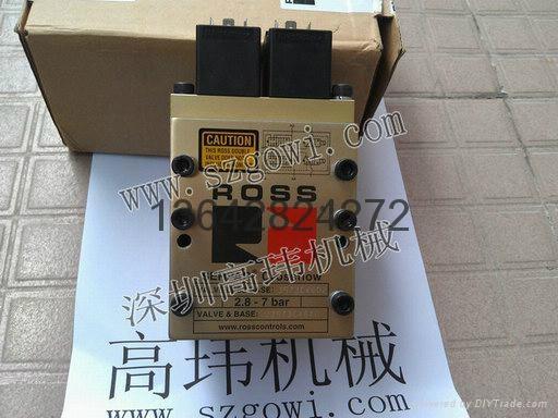 原裝進口美國ROSS沖床電磁閥J3573B4640 4