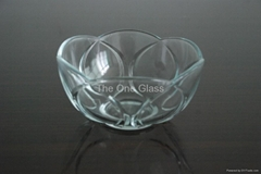 beautiful glass bowl