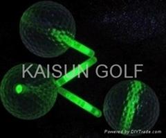 glowing golf balls