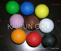 no bounce golf ball