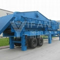 Mobile  vertical shaft impact  crusher plant