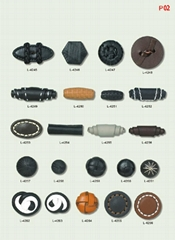 Leather Buttons and Products