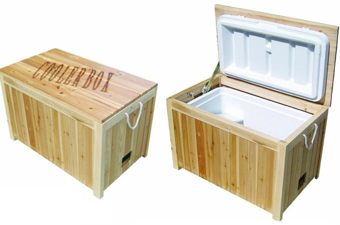 Wooden cooler box china manufacturer kitchen for Wooden beer cooler plans