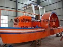 湖泊水草打捞船-青州拓新