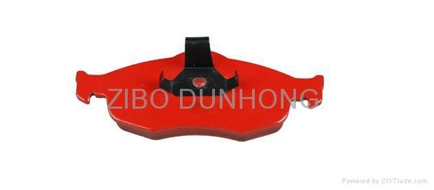 Semi-metallic brake pad 2