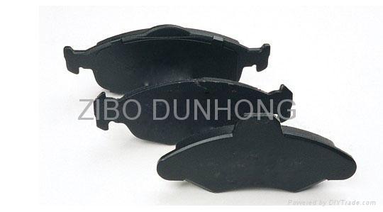 Semi-metallic brake pad 5