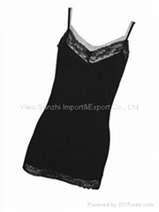 Seamless lace camisole ladies top
