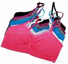 Ladies lace Brassiere seamless underwear