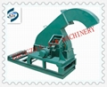 Disc wood chipper machine