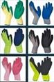 Latex coated glove  1