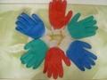 Latex coated glove  3