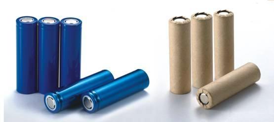锂聚合物电池,圆柱电池图片