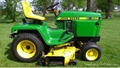 "John Deere 332 diesel 50"" deck, #49 snowblower *low hours*"