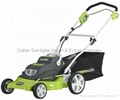 New Greenworks 25222 20-Inch 24-Volt Cordless Electric Lawn Mower with Removable