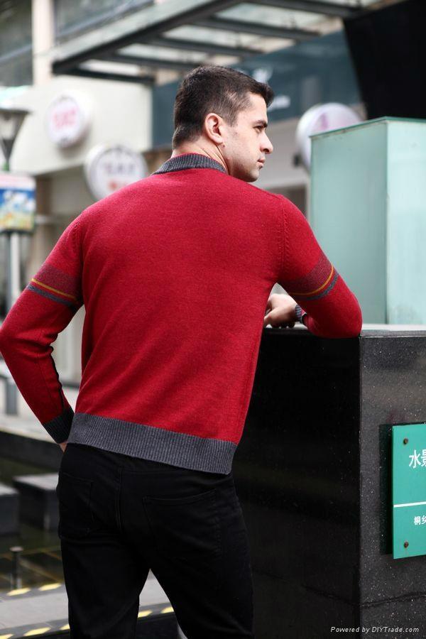 Men's woolen sweater 1