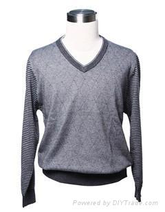 Men's woolen sweater 2