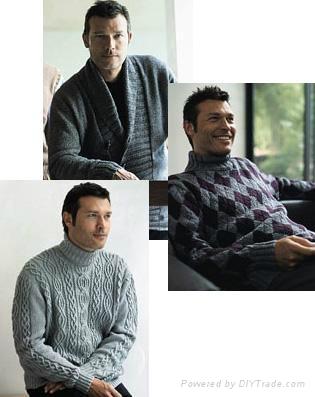 Men's woolen sweater 4