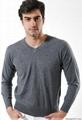 Men's woolen sweater 5
