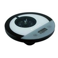 Quartz Clock Kitchen Electronic Scales with Tare Function