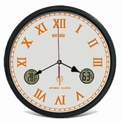 12'' Atomic Analog Clock