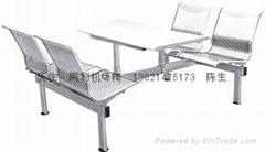 不鏽鋼餐桌椅