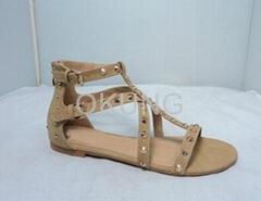 Fashion lady sandal with high quality
