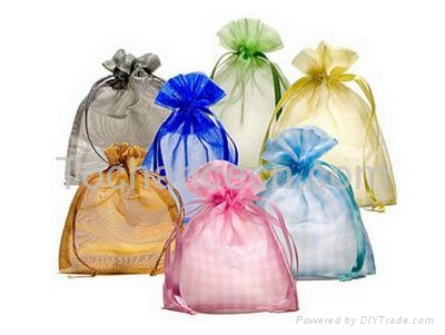 organza bag,gift pouch,drawstring bags 1