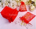 organza bag,gift pouch,drawstring bags 2