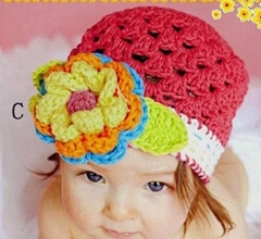 Hand crocheted hats kids hats baby beanie crochet hats knitting hats