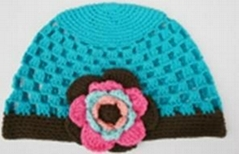girl crochet hats