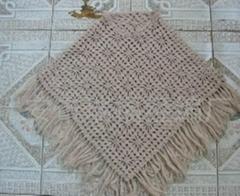 Lady's fashion crochet shawl