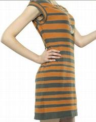lady fashin sweater dress