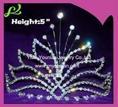 Crystal Ghost Halloween Crown