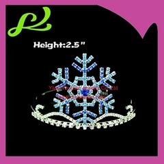 Snow Shaped Christmas Crown