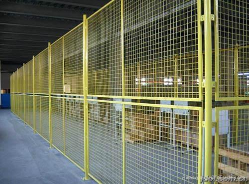 倉庫隔離柵 1