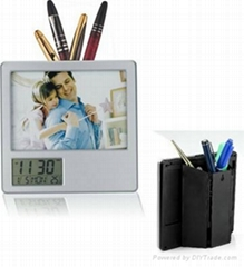 pen holder photo frame